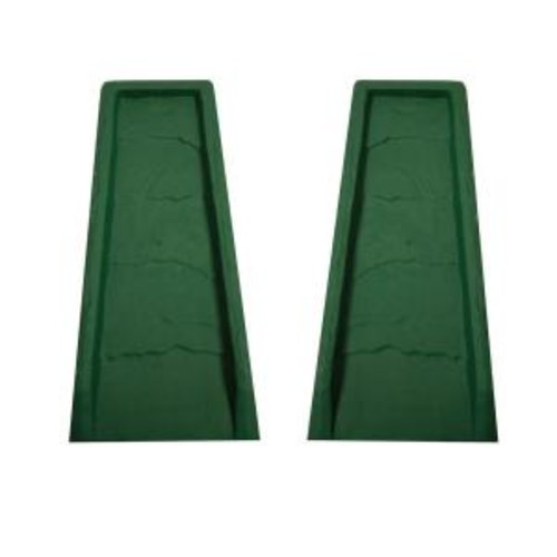 Master Mark Block Green Gutter Down Spout Splash (2-Pack)