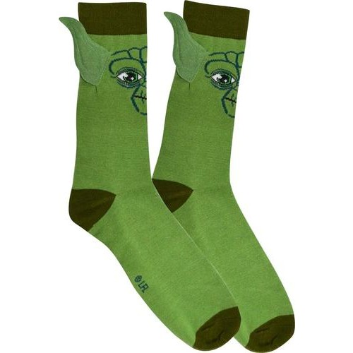 Star Wars - Yoda Socks - Green