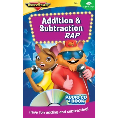 Addition & Subtraction Rap Audio CD and Book by Rock 'N Learn: Music [1]