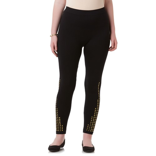 Women's Plus Embellished Leggings [Fit : Women's Plus]
