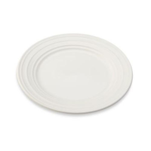 Mikasa Swirl Appetizer Plate in White