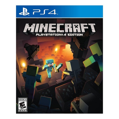Minecraft, Sony, PlayStation 4, 711719053279