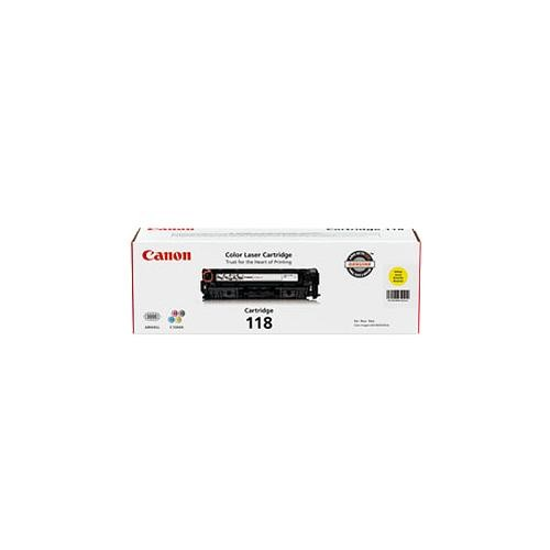 Canon 118 Yellow Toner Cartridge (2659B001AA)
