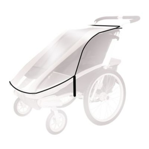 Thule Active with Kids Rain Cover for Chariot CX2/Chariot Cougar 2 Child Carrier