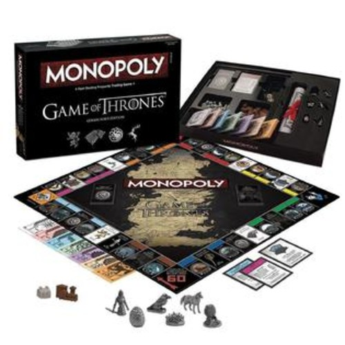USAopoly Monopoly: Game of Thrones Collector's Edition Board GOT Iron Throne USAopoly MN104375