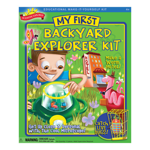 Scientific Explorer My First Backyard Explorer Kit