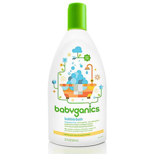 Babyganics 20 oz. Fragrance-Free Bubble Bath
