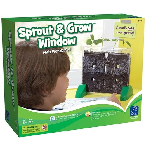 Learning Resources Learning & Educational Toys Sprout & Grow Window Gr K & Up
