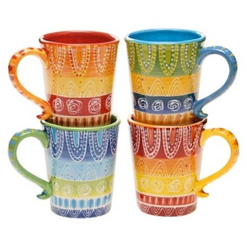 Certified International Tapas Mug Set of 4 (18 oz.)