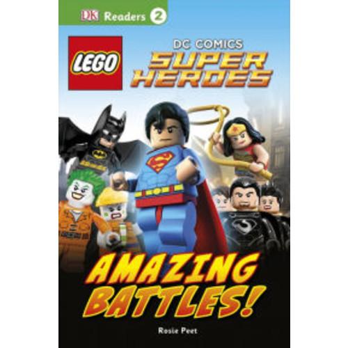LEGO DC Comics Super Heroes: Amazing Battles! (DK Readers Level 2 Series)