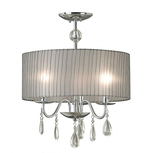 Kenroy Home Arpeggio 3-Light Pendant in Chrome