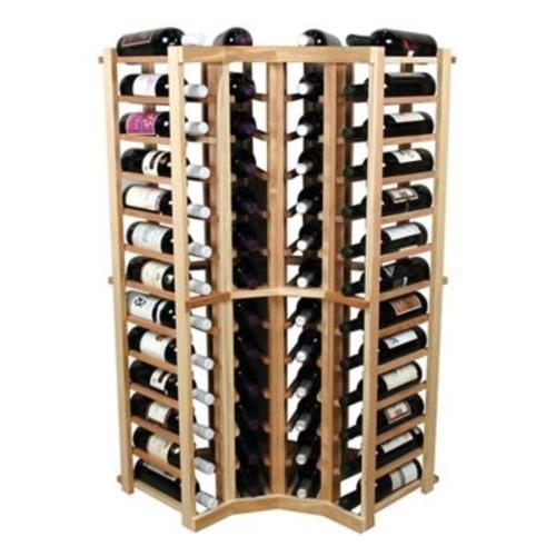 Wine Cellar Vintner 52 Bottle Floor Wine Rack; Midnight Black