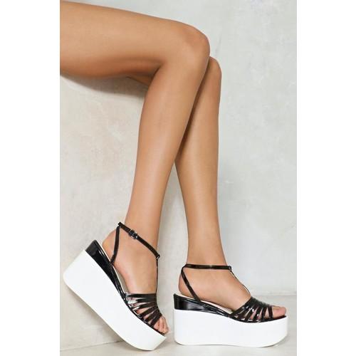 So Vain Platform Sandal