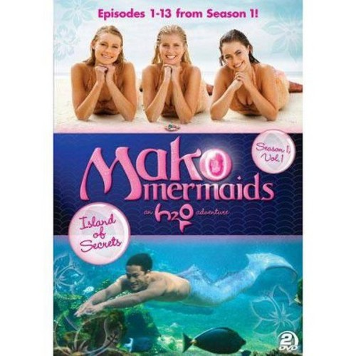 Mako Mermaids - An H2O Adventure: Season 1 - Island of Secrets [DVD]