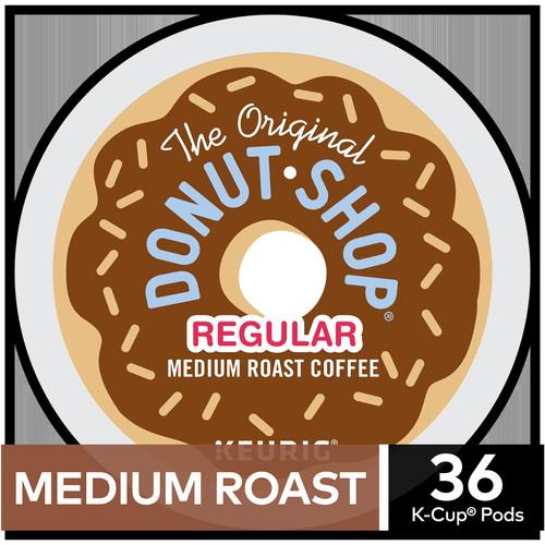 The Original Donut Shop Coffee Regular Keurig Single-Serve K-Cup Pods, Medium Roast Coffee