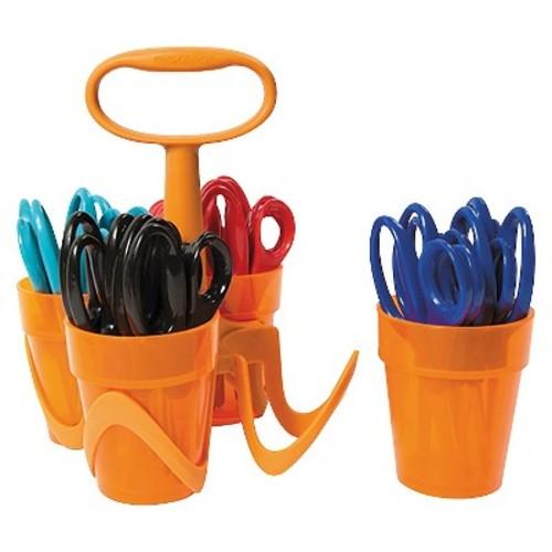 Fiskars Scissors, 5 in. Length, Classpack, Blunt Tip, Assorted
