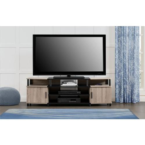 Dorel Home Furnishings Carson Sonoma Oak and Black 63
