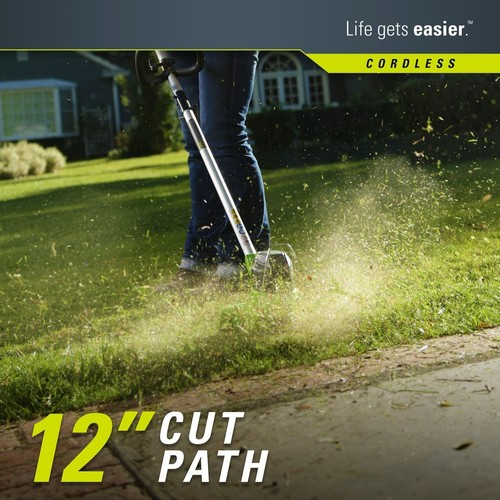 Greenworks 40V Blower/String Trimmer Combo Kit with 2.0Ah Battery and Charger
