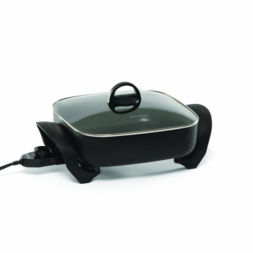 West Bend 72212 Electric Extra-Deep Square 12-Inch Nonstick Skillet (Discontinued by Manufacturer)