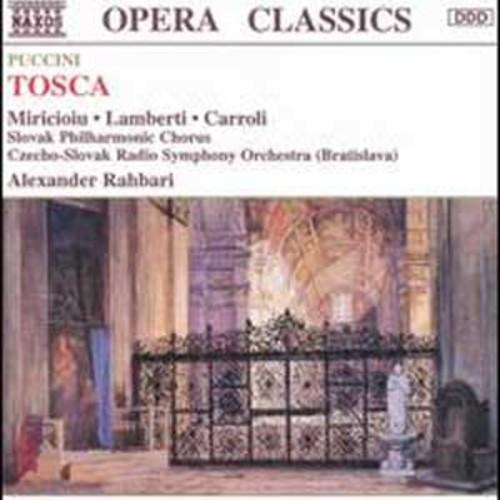 Puccini: Tosca By Alexander Rahbari (Audio CD)