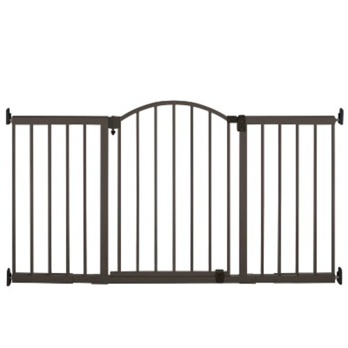 Summer Infant Walk Thru Metal Expansion Baby Gate Extra Tall and Wide