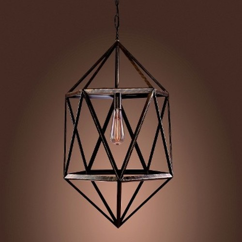 Warehouse Of Tiffany Pendant Ceiling Lights -Black