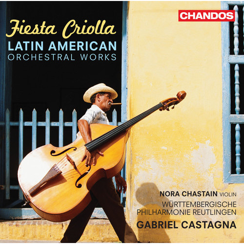 Fiesta Criolla: Latin American Orchestral Works - CD