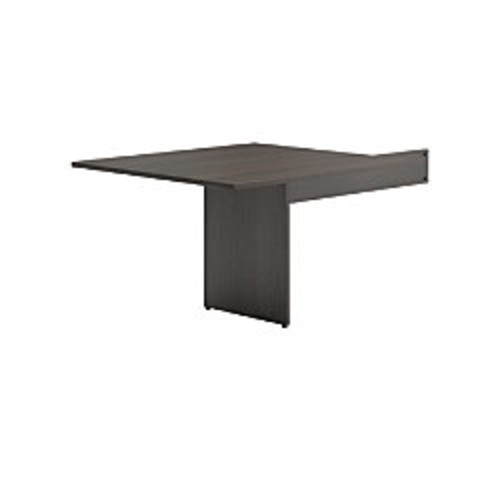 basyx by HON BL Series Rectangle-Shaped Table End For Conference Table, Espresso
