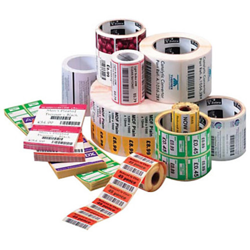 Zebra Label Paper 2 x 1in Thermal Transfer Zebra Z-Perform 2000T 3 in core