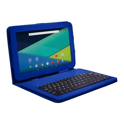 Visual Land ME10QL16KCBLU Prestige Elite 10QL Quad-Core 16GB Tablet with Android Lollipop 5.0 in Blue