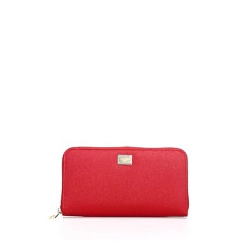 DOLCE & GABBANA Continental Leather Wallet