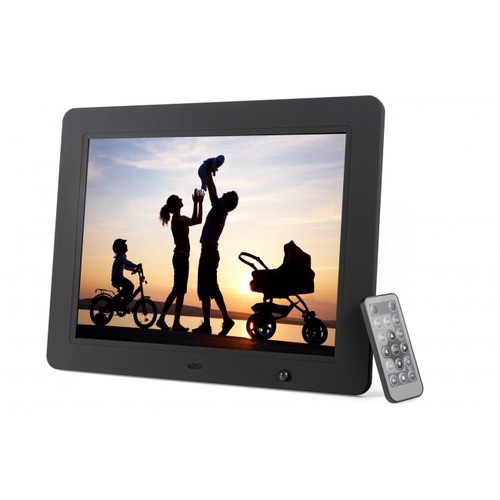 Photomate 12.1 Inch Hi-Resolution Digital Picture Frame with Motion Sensor & 4GB Built-in Memory