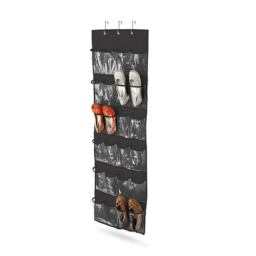 Honey-Can-Do SFT-01277 Drawers For Hanging Organizer [Black]