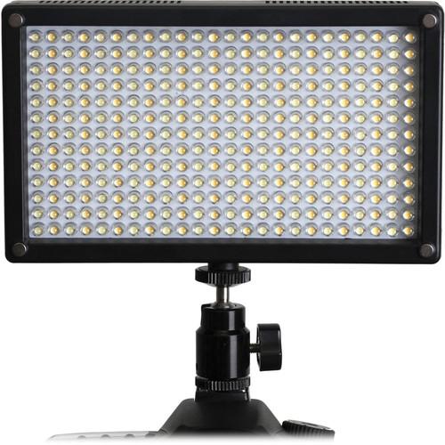 LED-7100T 312 LED Variable-Color On-Camera Light