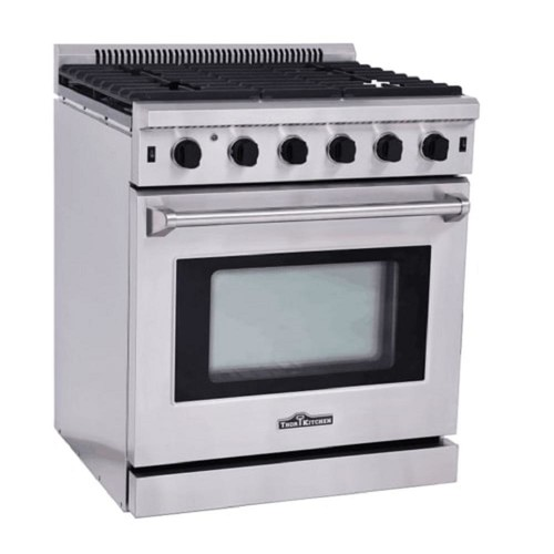 Thor Kitchen 30 in. 4.55 cu. ft. Professional Gas Range in Stainless Steel