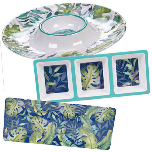 Certified International Tropicana 3-pc. Serving Set