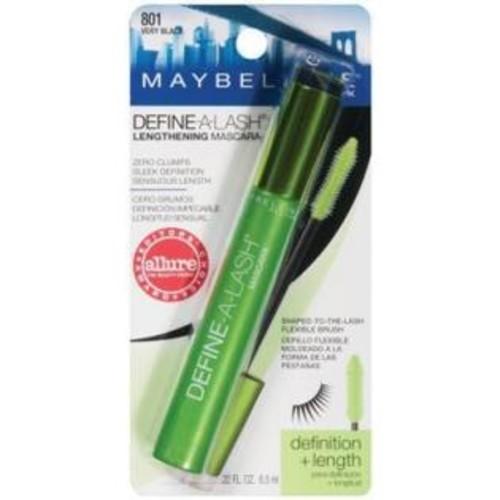 Maybelline New York Maybelline Define A Lash Lengthening Mascara, Very Black #601, 0.22 oz - 6 ea