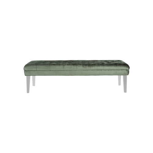Abrosia Bench by Safavieh | grey | Gilt
