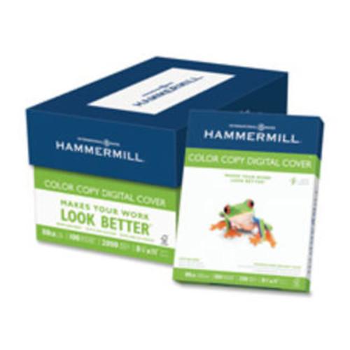 Hammermill HAM120023 Color Copy Paper- 80lb.- 100 Bright- 8-.50in.x11in.- 250 SH-RM- White