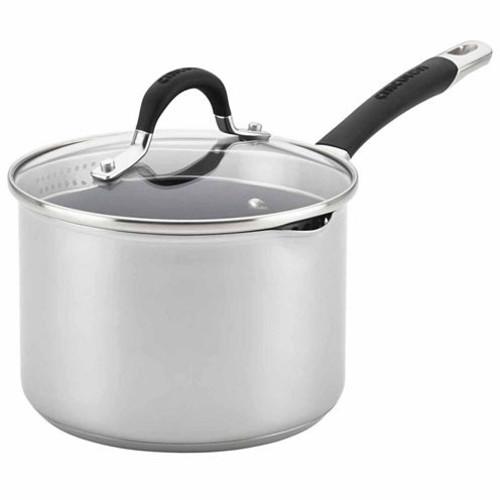 Circulon 3-qt. Stainless Steel Sauce Pan