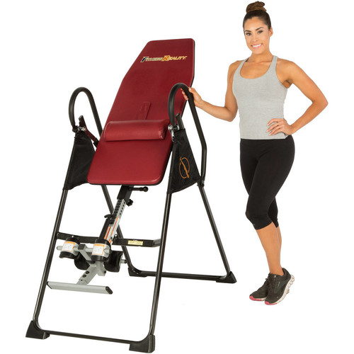 Fitness Reality 790XLT High Endurance Inversion Table with Lower Back Cushion