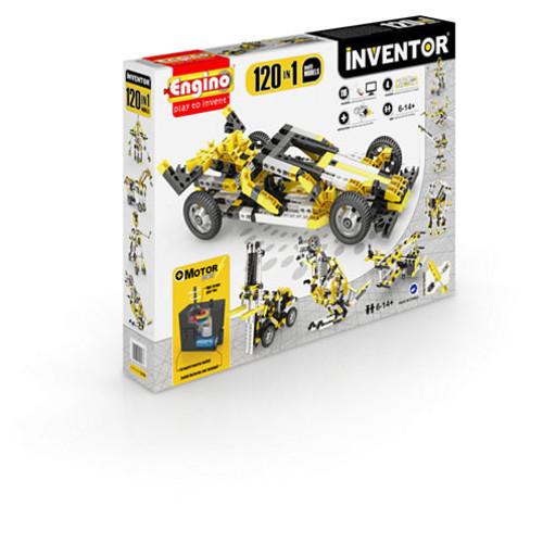 Engino Inventor 120 In 1 Models Building MotorizedSet - Multi Models