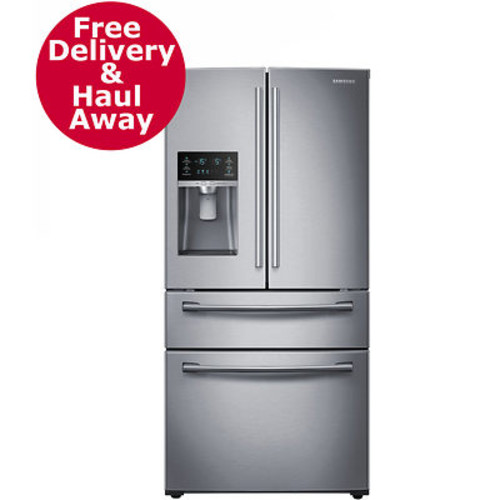 Samsung 28-Cu. Ft. Counter-Height 4-Door Refrigerator with FlexZone Drawer - Stainless Steel