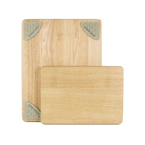 Gripper Wood Cutting Boards - Set of 2