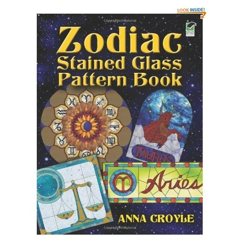 Zodiac Stained Glass Pattern Book (Dover Stained Glass Instruction)