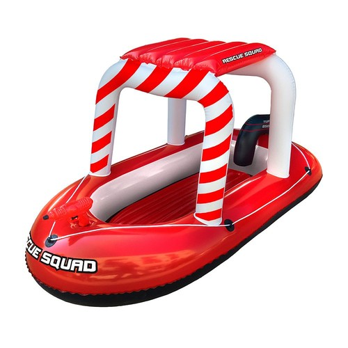 Blue Wave Rescue Squad Inflatable Boat with Water Gun
