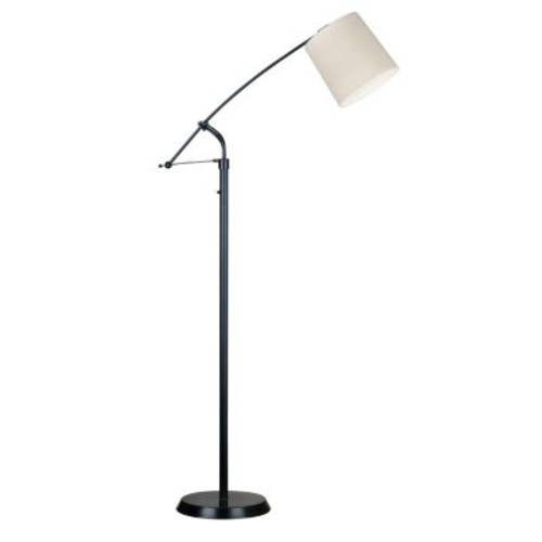 Kenroy Home Reeler 54-64 in. Oil-Rubbed Bronze Floor Lamp