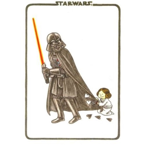 Vader's Little Princess Flexi Journal