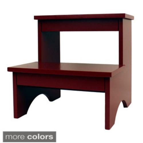 Little Colorado Child Wooden Step Stool [option : Espresso]