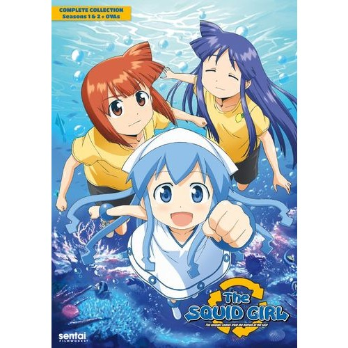 The Squid Girl: The Complete Collection [7 Discs] [DVD]
